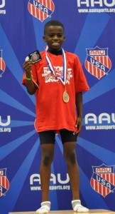 Brandon Miller 1st Place - Gold - Bantam Boys 1500M Run.  Brandon set a new national record of 4:49:53.  Brandon beat the previous record of 4:52:91 set in 2001   1st Place - Gold - Bantam Boys 800M Run.  Brandon set a new national record of 2:18.52.  Brandon beat the previous record of 2:20.21 set in 2008